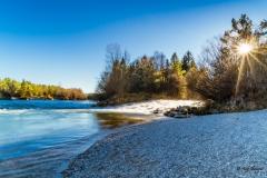 Loisach-Isar-Mündung bei Wolfratshausen - Andy Ilmberger