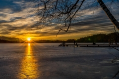 Kirchsee Sunset im Winter - Andy Ilmberger