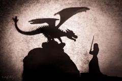 Schattenspiele Drachen vs Maid - Andy Ilmberger