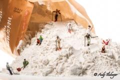 H0 Kleine Helden Skifahrer Mehlpiste - Andy Ilmberger