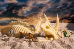 H0 Kleine Helden Dinosaurier Ausgrabung - Andy Ilmberger