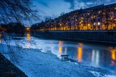München Isar bei Nacht - Andy Ilmberger