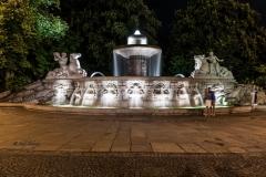 München Lenbachbrunnen bei Nacht - Andy Ilmberger
