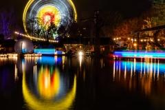 Riesenrad bei Nacht - Andy Ilmberger