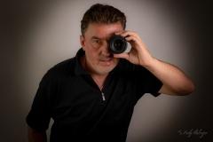 Selfie mit Objektiv - Andy Ilmberger