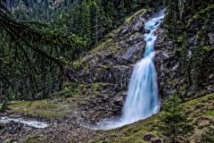 Österreich Kriml Wasserfall Andy Ilmberger
